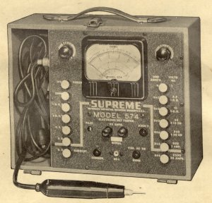 Downloads, Supreme Instruments Manuals, Tube Data, and