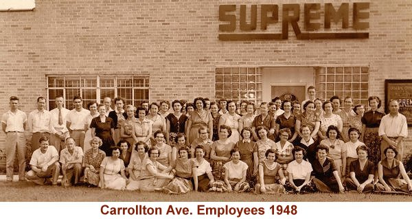 Carrolton Ave. Employees 1948